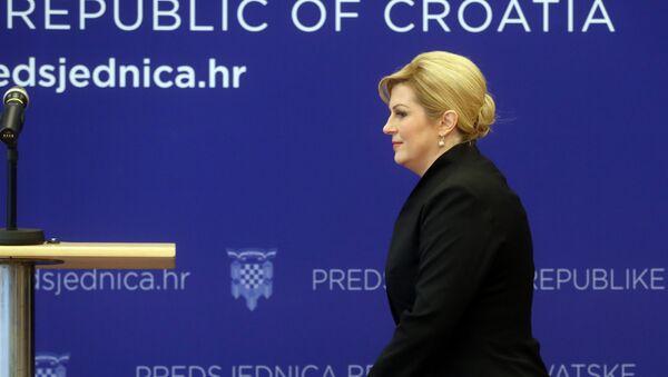 Председница Хрватске Колинда Грабар Китаровић - Sputnik Србија