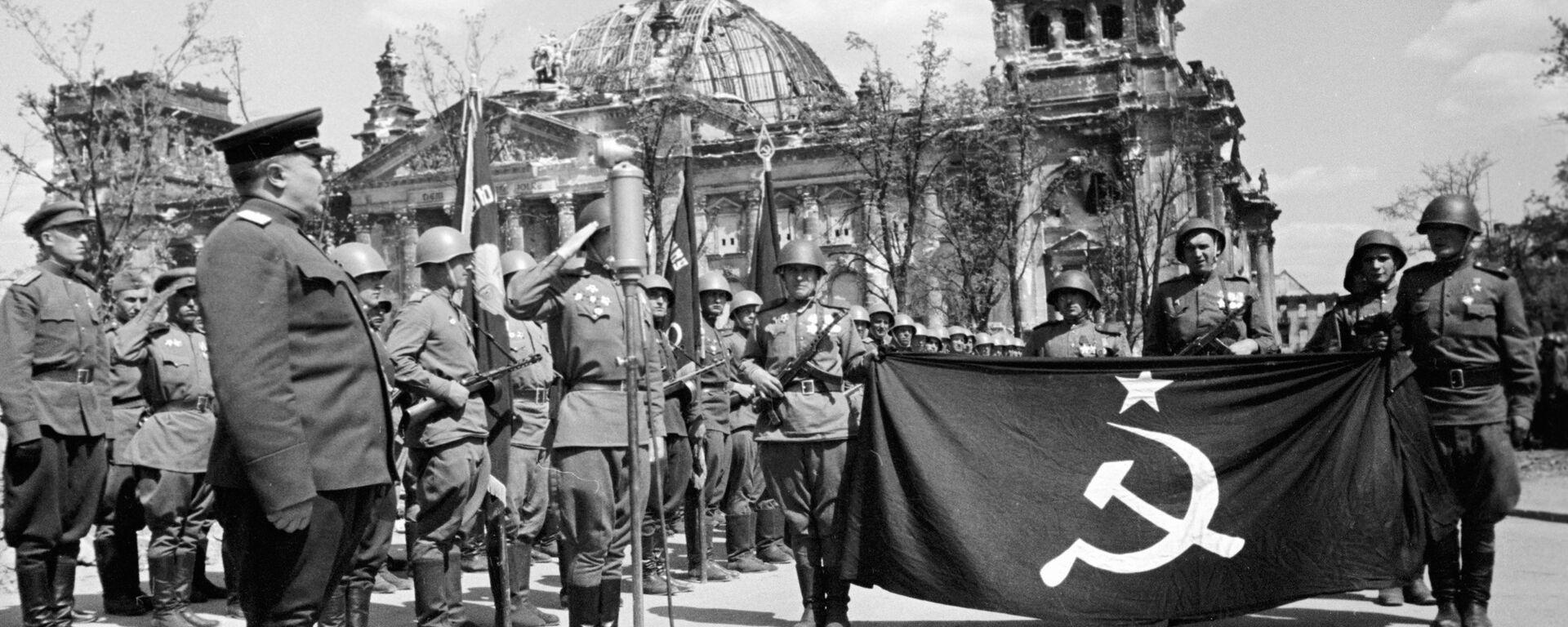 Совјетски војници у Берлину - Sputnik Србија, 1920, 21.06.2021