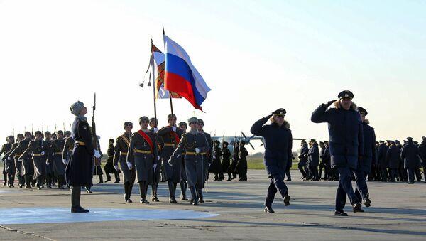 Ruska vojska u bazi Hmejmim u Siriji - Sputnik Srbija