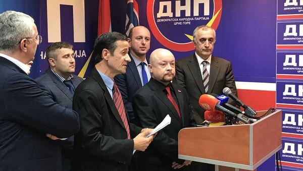 Delegacije Rodine na konferenciji za novinare sa DF-om - Sputnik Srbija