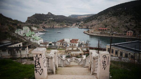 Поглед на град Балаклава на Криму - Sputnik Србија