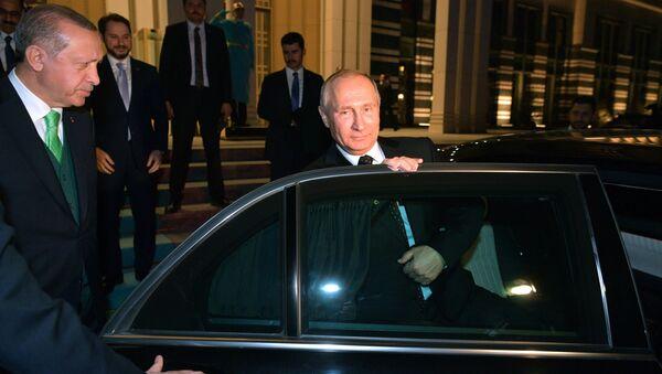 Vladimir Putin u poseti Ankari - Sputnik Srbija
