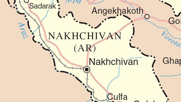 Mapa Nahčivana - Sputnik Srbija