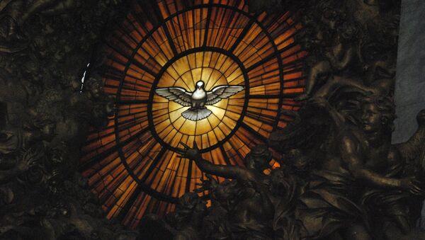 Витраж из Базилике Светог Петра у Ватикану - Sputnik Србија