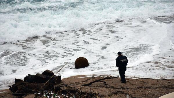 Bomba na plaži u Dubrovniku - Sputnik Srbija
