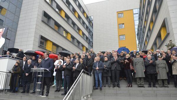 Otvaranje Kliničkog centra u Nišu - Sputnik Srbija