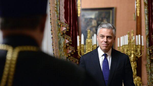 Амерички амбасадор у Русији Џон Хантсман - Sputnik Србија