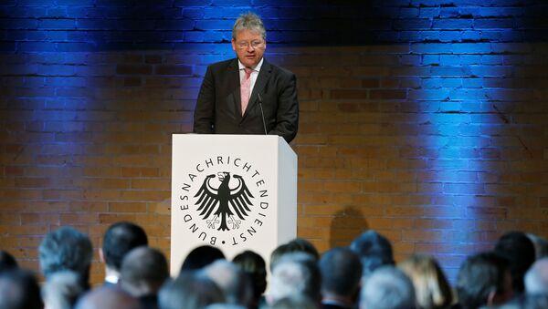 Директор немачке обавештајне службе (БНД) Бруно Кал говори на обележавању годишњице оснивања службе у Берлину - Sputnik Србија