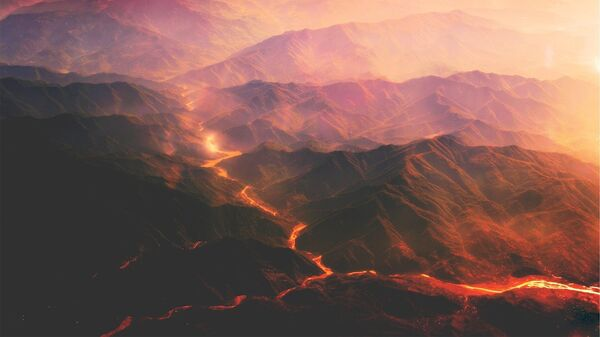 Vulkanska lava - Sputnik Srbija