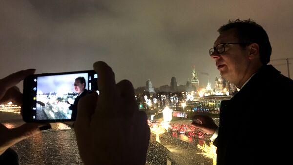 Председник Србије Александар Вучић у Москви 18.12.2017 - Sputnik Србија