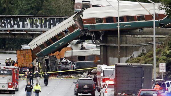 Железничка несрећа у Сијетлу - Sputnik Србија