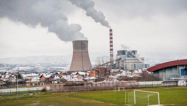 Fabrika pored stadiona u Obliću, Kosovo i Metohija - Sputnik Srbija