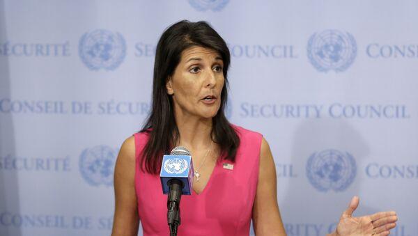 Stalna predstavnica SAD u UN Niki Hejli - Sputnik Srbija