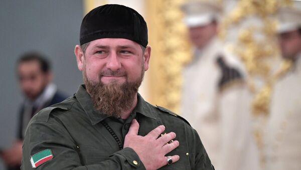 Predsednik Čečenije Ramzan Kadirov - Sputnik Srbija