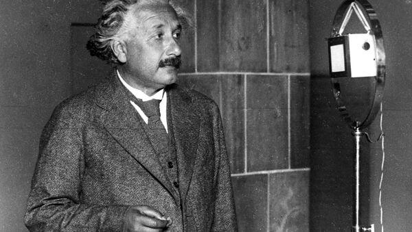 Albert Ajnštajn u Berlinu  18. oktobra 1930. - Sputnik Srbija