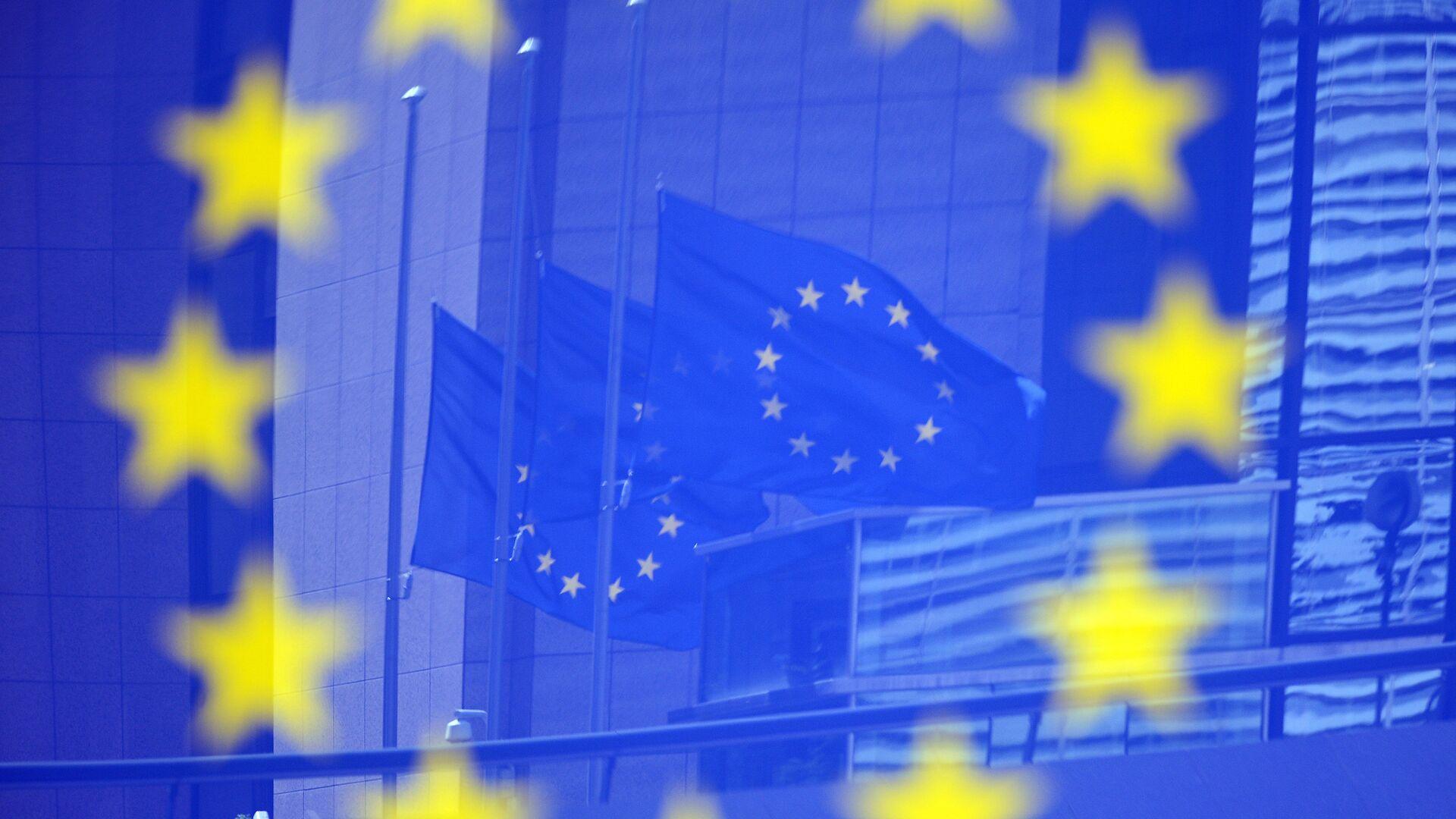 Заставе ЕУ у Бриселу - Sputnik Србија, 1920, 22.09.2021