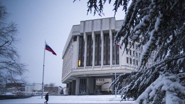 Зграда Државног савета Републике Крим у Симферопољу - Sputnik Србија