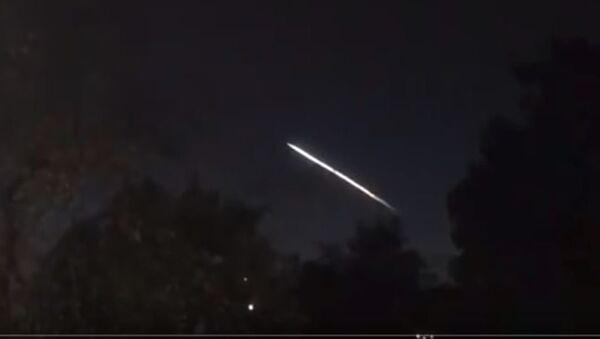 NLO iznad Kalifornije - Sputnik Srbija
