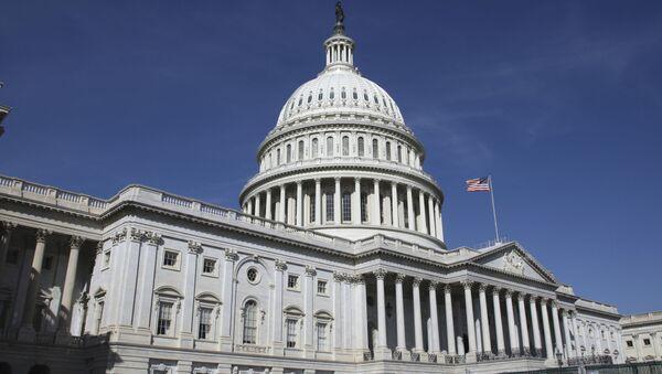 Здание конгресса США в Вашингтоне - Sputnik Србија
