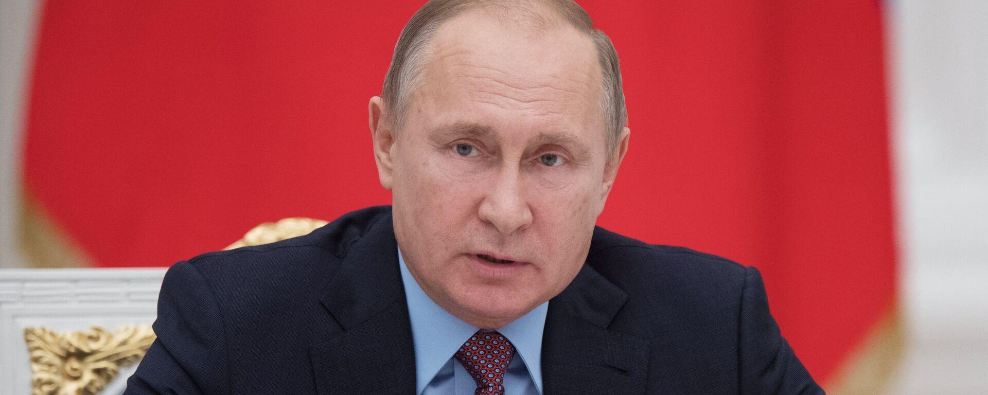 Руски председник Владимир Путин - Sputnik Србија, 1920, 01.03.2020
