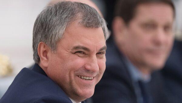 Председник Државне думе РусијеВјачеслав Володин - Sputnik Србија