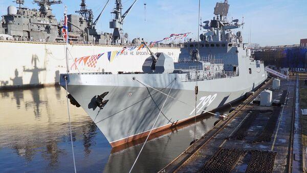 Nova ruska fregata Admiral Makarov - Sputnik Srbija