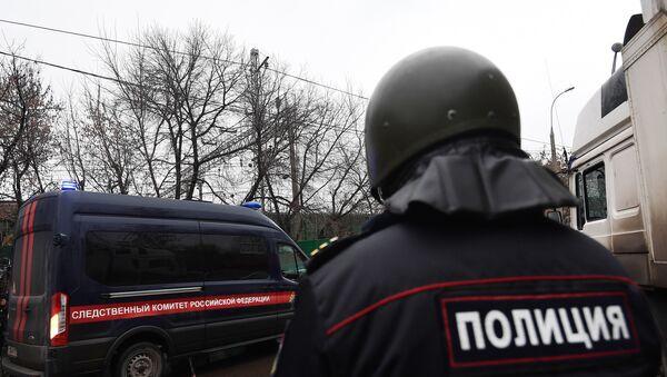 Припадник полиције и полицијско возило у Москви - Sputnik Србија