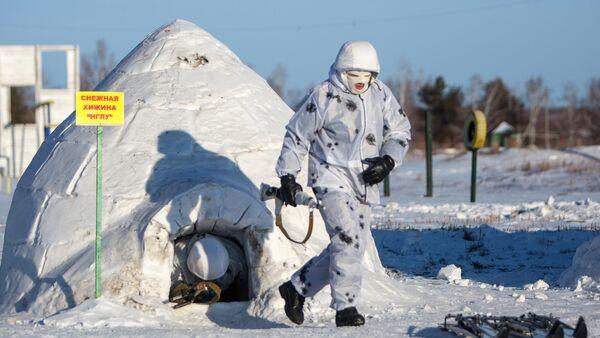 Vojne vežbe ruske vojske na Arktiku - Sputnik Srbija
