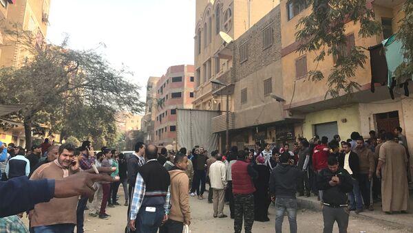 Напад на копску цркву у Египту 29.12.2017. - Sputnik Србија
