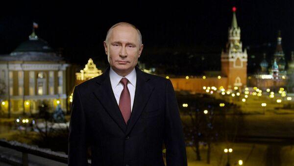 Novogodišnja čestitka Vladimira Putina - Sputnik Srbija