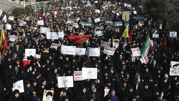Протести у Ирану - Sputnik Србија