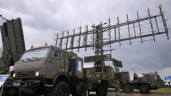 Mobilna radarska stanica za praćenje vazdušnih ciljeva 1L124E - Sputnik Srbija