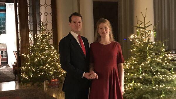 Princ Filip i princeza Danica Karađorđević - Sputnik Srbija