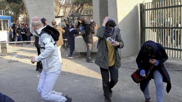Противладини протести у Техерану, Иран - Sputnik Србија