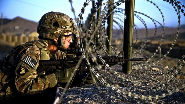 Američki vojnik u Avganistanu (arhiva) - Sputnik Srbija