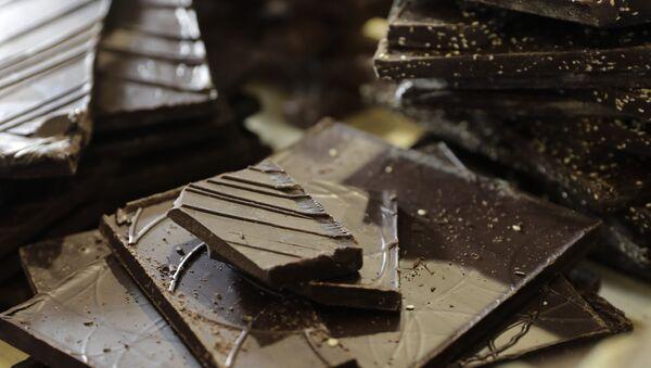 Чоколада на 23. париском сајму чоколаде - Sputnik Србија