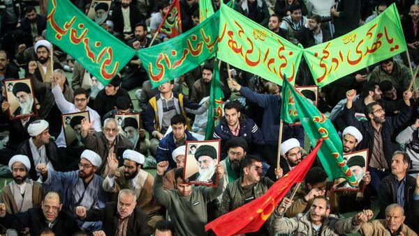 Митинг подршке влади у Техерану, престоници Ирана, 30. децембар 2017. - Sputnik Србија