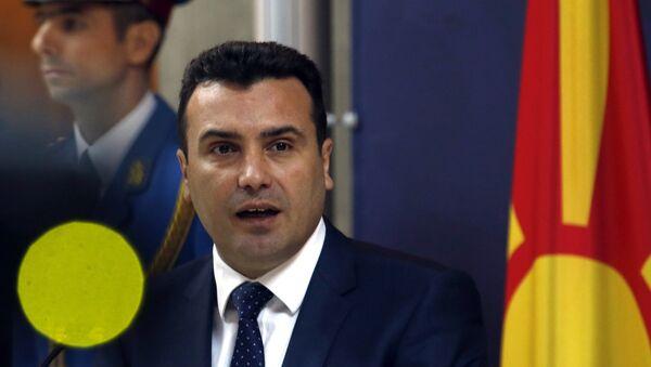 Zoran Zaev u Beogradu. - Sputnik Srbija