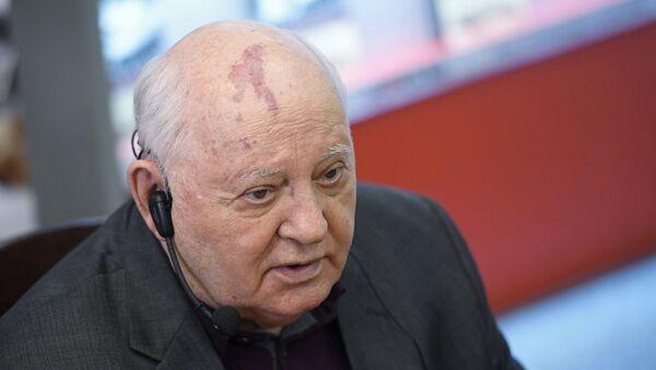 Bivši predsednik SSSR Mihail Gorbačov - Sputnik Srbija