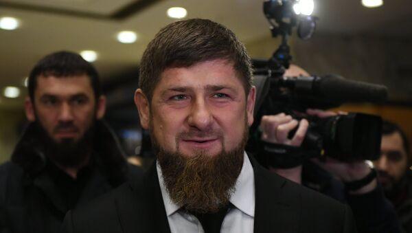 Лидер Чеченске Републике Рамзан Кадиров - Sputnik Србија