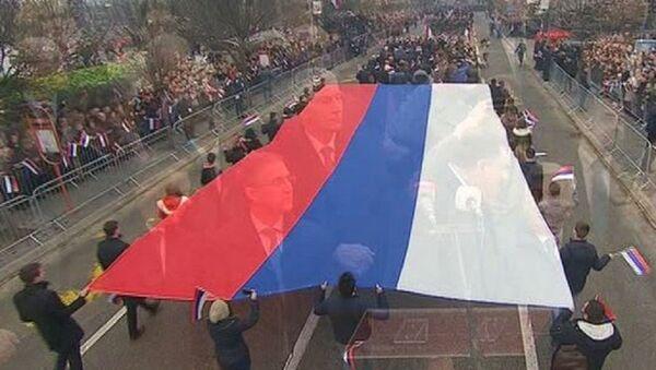 Defile u Banjaluci povodom proslave Dana Republike Srpske. - Sputnik Srbija