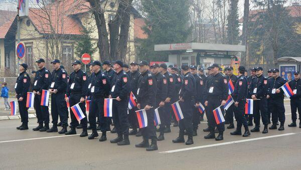 Policajci RS na defileu povodom proslave Dana Republike Srpske u Banjaluci. - Sputnik Srbija