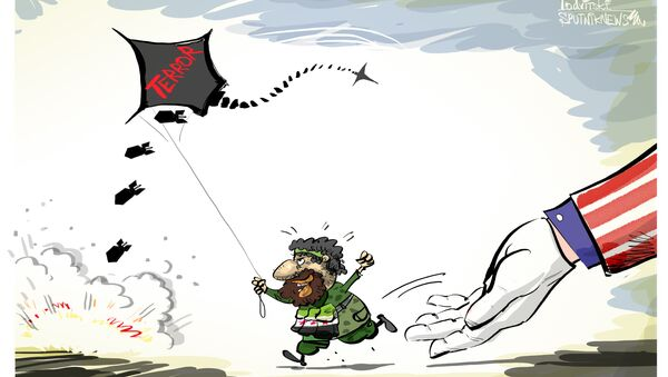 Напад дроновима - Sputnik Србија