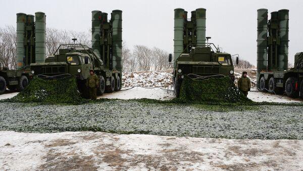 Дивизион противракетног система С-400 Тријумф у Владивостоку - Sputnik Србија