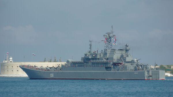 Veliki desantni brod Jamal Crnomorske flote - Sputnik Srbija