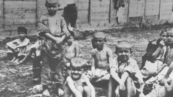 Srpska deca u ustaškom koncentracionom logoru u Sisku - Sputnik Srbija