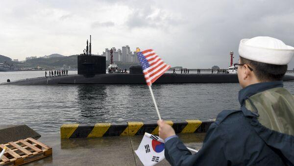 Америчка подморница - Sputnik Србија
