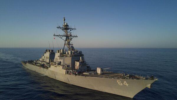 Амерички разарач Карни на Средоземном мору - Sputnik Србија