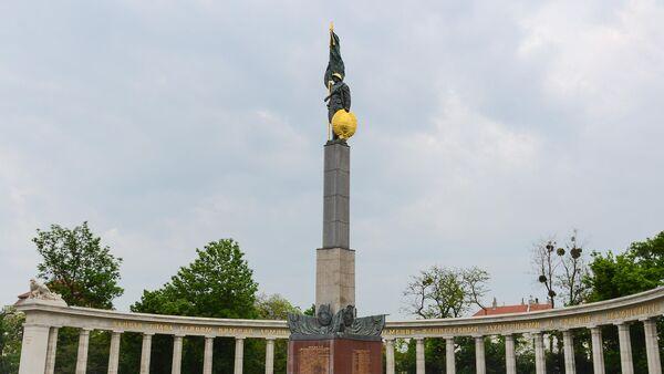 Spomenik sovjetskim vojnicima poginulima za oslobođenje Austrije od fašizma - Sputnik Srbija