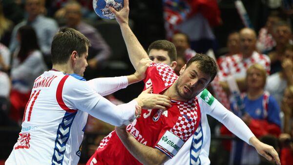 Rukomet: Srbija - Hrvatska - Sputnik Srbija